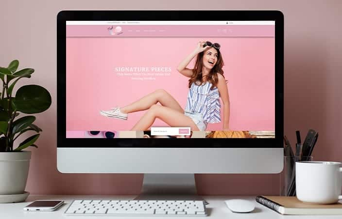Pink House eCommerce Website