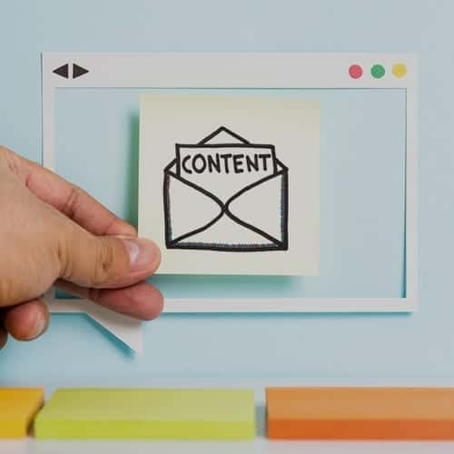 Email marketing content