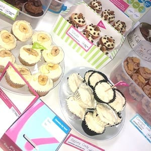 Fundraising For Alzheimers - Cupcake Caking at Blue Whale Media